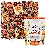 Tealyra - Orange Lemonade - Hibiscus - Eucalyptus - Lemongrass - Herbal Fruity Loose Leaf Tea Blend - Vitamins Rich…