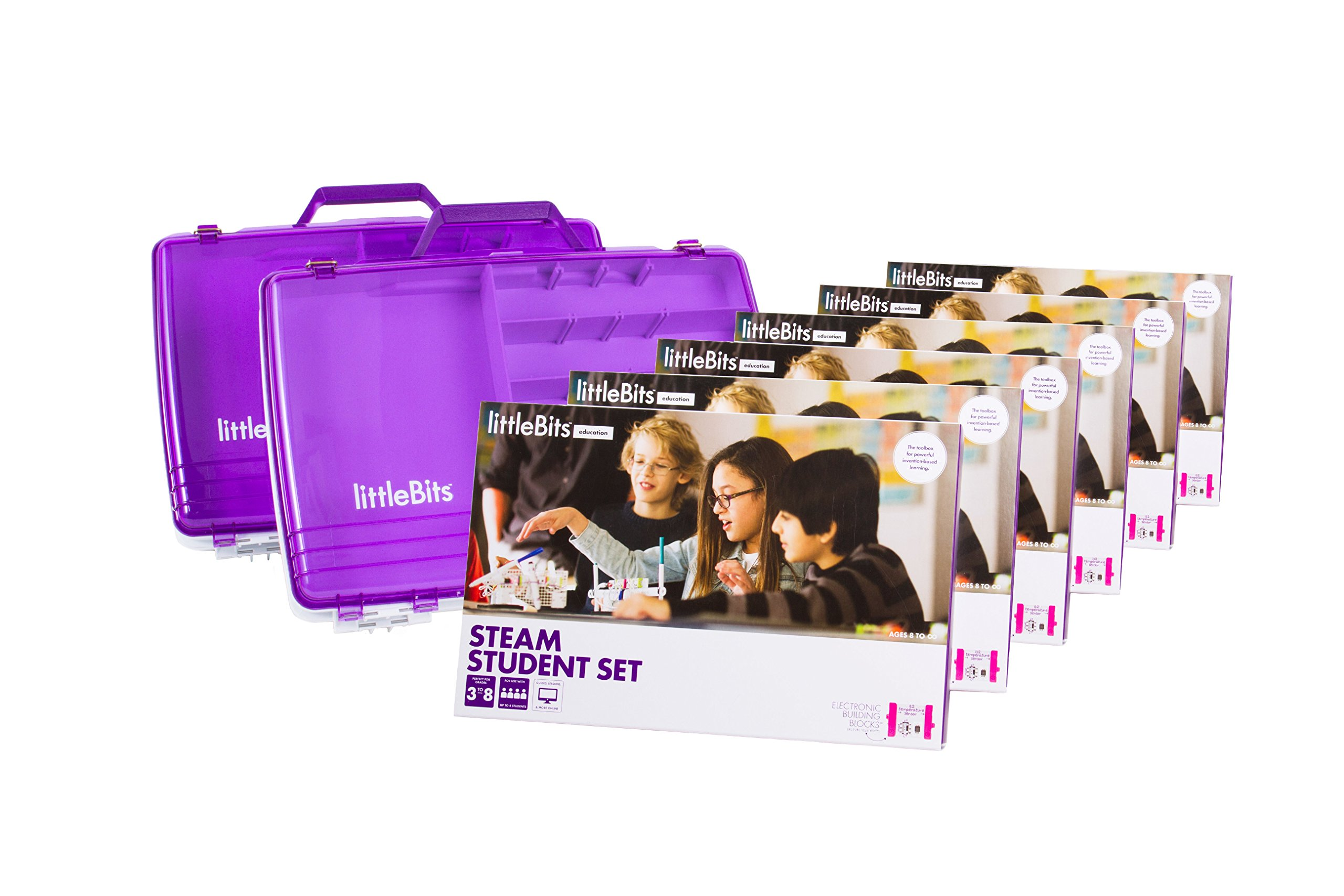 littleBits STEAM Education Class Pack for 18 Students