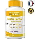 Cuidado Natural de la Barba Bigote Denso Brillo Engosador Capilar Nutri Barba Para Hombres Crecimiento de Cabello Barba Bigote