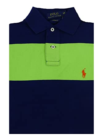 Ralph Lauren Polo - Polo para Hombre - Custom Fit - Stripe Mesh ...