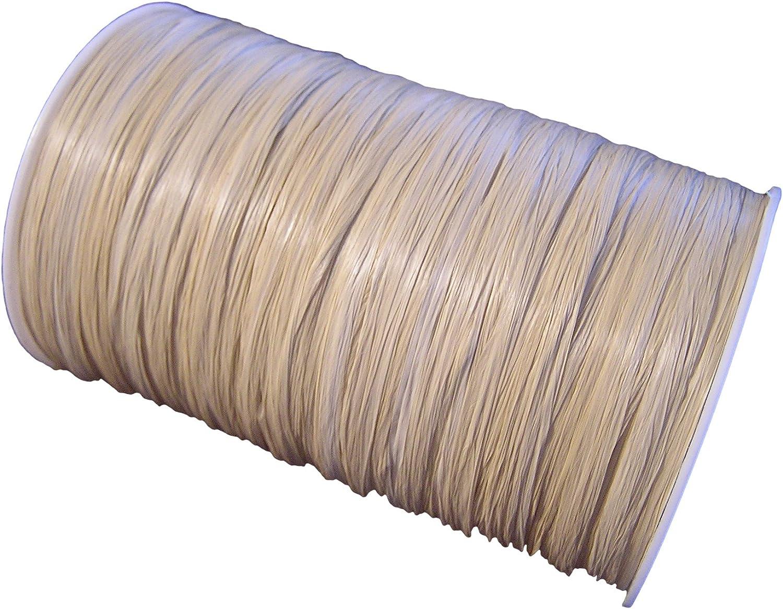 Paper Mart Terra Cotta Matte Raffia Ribbon 1//4 x100 yd