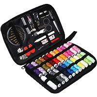 JUNING Couture kit Complet Portable,90pcs Set de Couture pour Voyage Famille Maison - Applicable au Travail et à l'Urgence