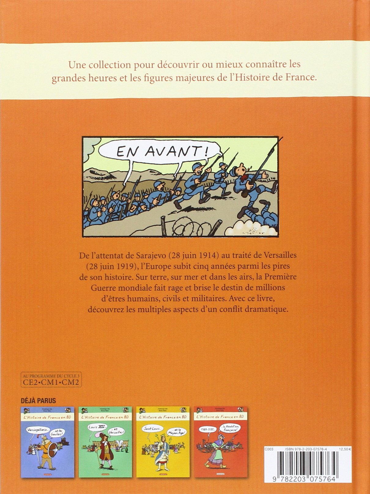 L Histoire De France En Bd 1914 1918 La Grande Guerre