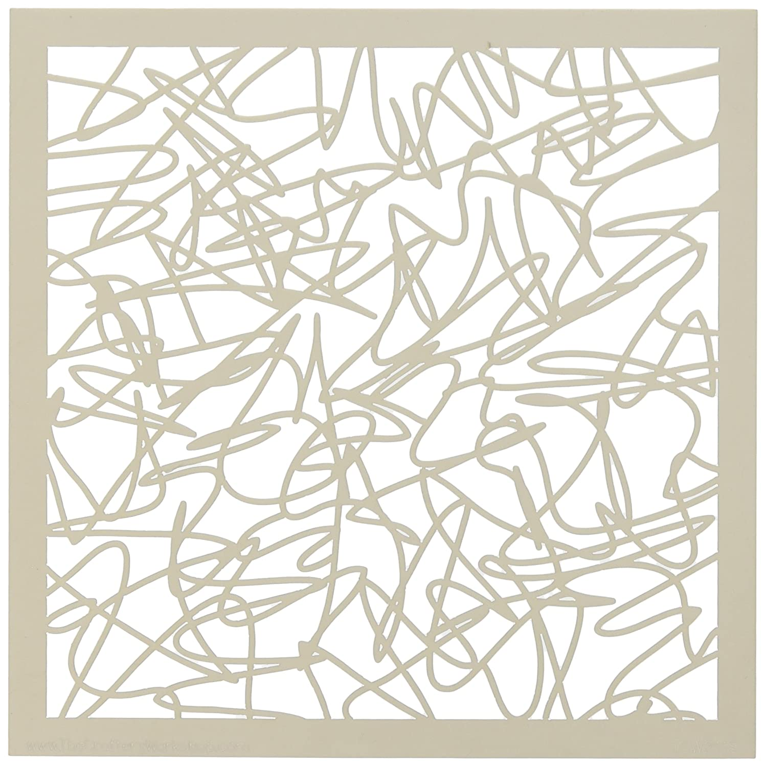 Crafters Workshop 6 x 6-inch Webbing Template TCW6X6-211