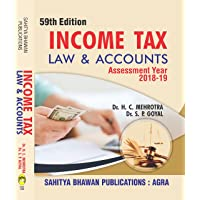 Income Tax Law & Accounts Assessment Year 2018-19 Patna, Tilka Manjhi Bhagalpur, Magadh and Veer Kunwar Singh Universities - Sahitya Bhawan Publications
