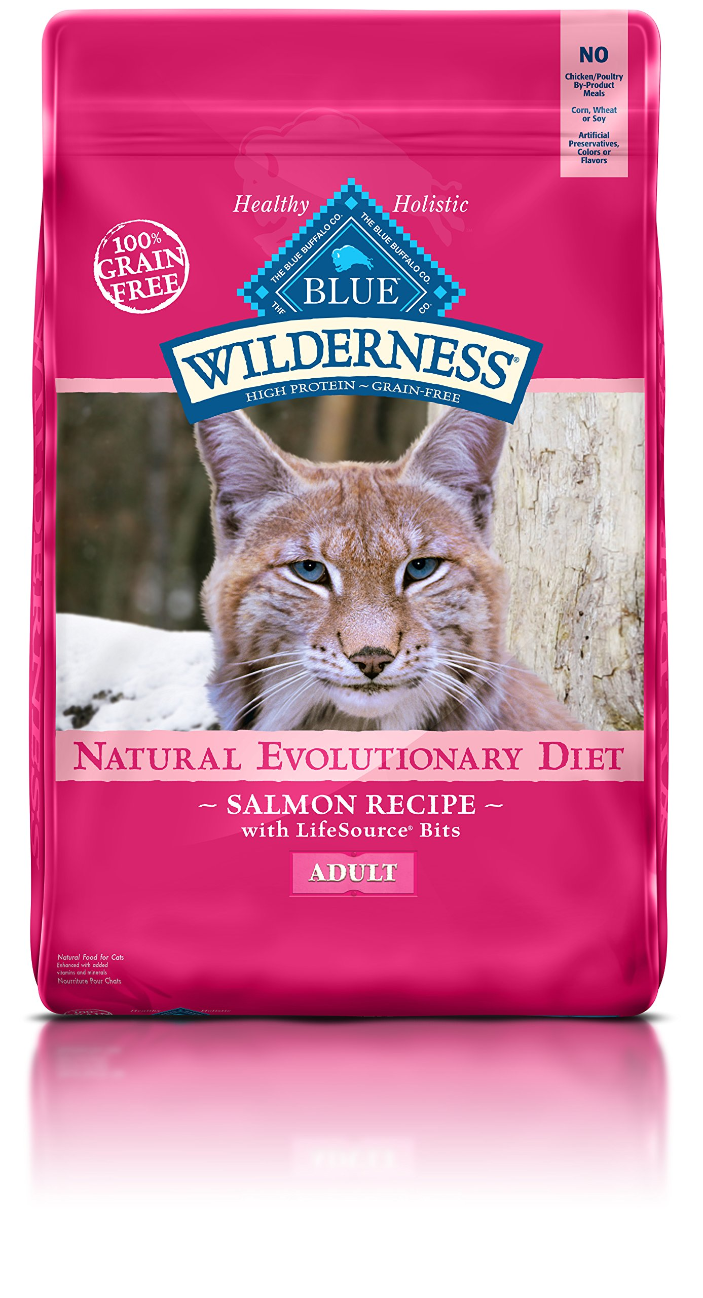 Target Blue Wilderness Salmon Cat Food