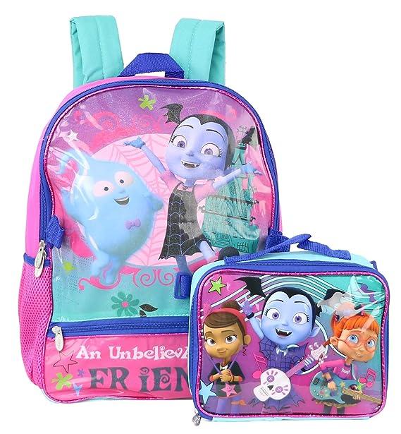1099e7499ba Disney Vampirina School Book Backpack With Lunch Box SET  Amazon.ca   Clothing   Accessories