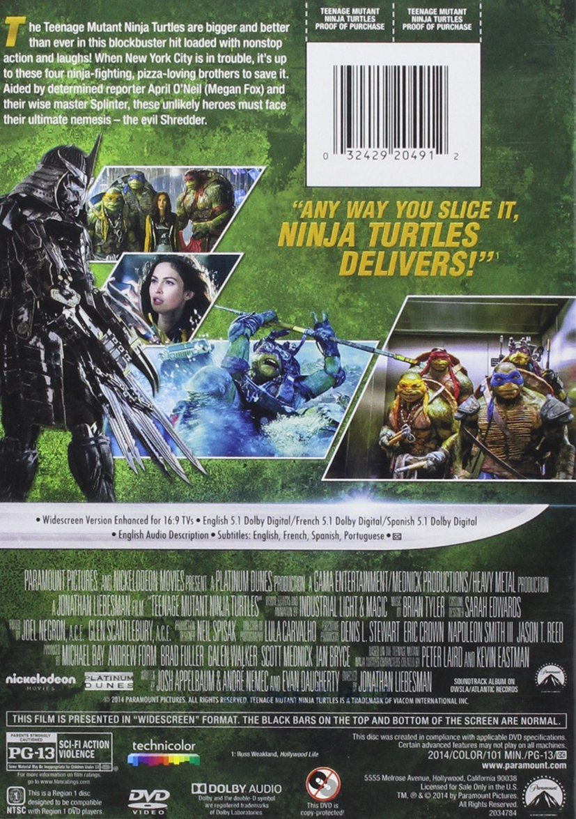 Amazon.com: Teenage Mutant Ninja Turtles: Movies & TV
