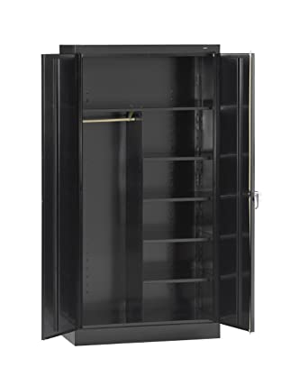 Tennsco 7220 24 Gauge Steel Standard Welded Combination Storage Cabinet 5 Shelves 200 lbs  sc 1 st  Amazon.com & Tennsco 7220 24 Gauge Steel Standard Welded Combination Storage ...