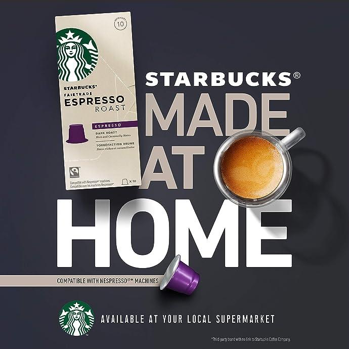 Starbucks 星巴克 Kenya 肯尼亚 中度烘焙 胶囊咖啡 10粒*5盒 ¥146