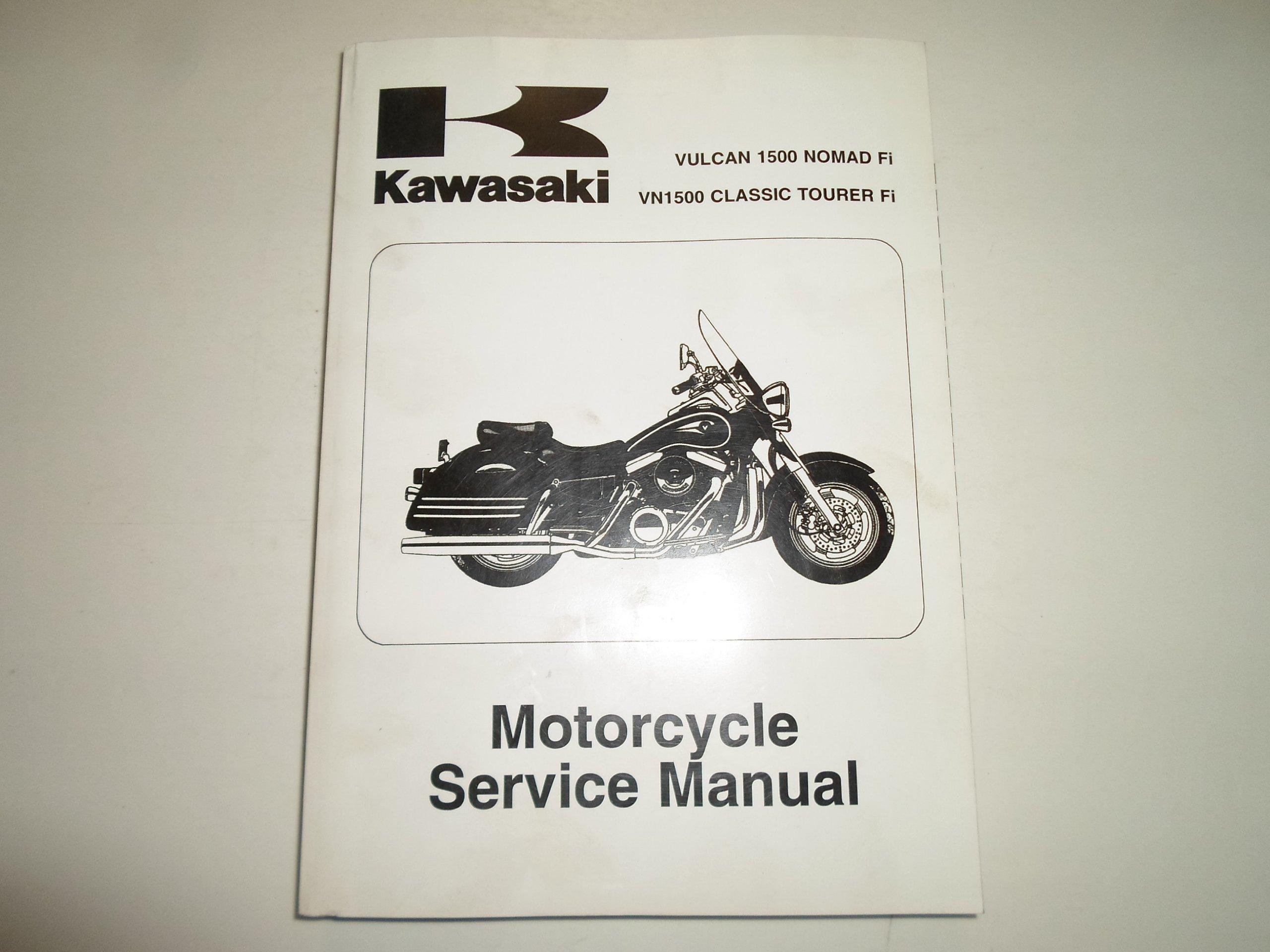 2000-2004 Kawasaki Vulcan 1500 Nomad Fi VN1500 Classic Tourer Fi Service  Manual: KAWASAKI: Amazon.com: Books