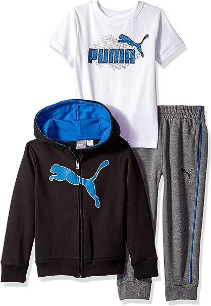 PUMA Little Boys Fleece Sweatshirt