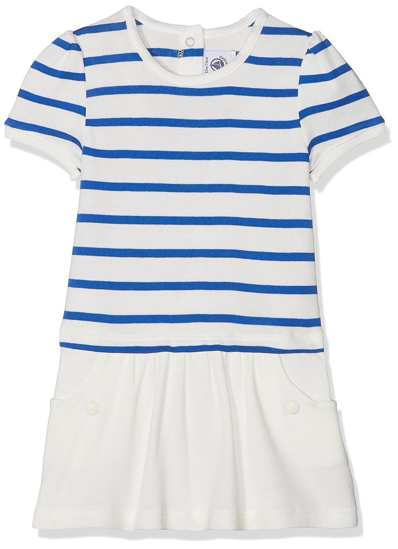 Petit Bateau Baby-Mä dchen Kleid 28371