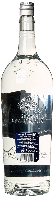 Gorbatschow Wodka 37,5% Vol. (1 x 3 l): Amazon.de: Bier, Wein ...