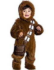 Star Wars Classic Chewbacca Deluxe Plush Costume Romper, Toddler