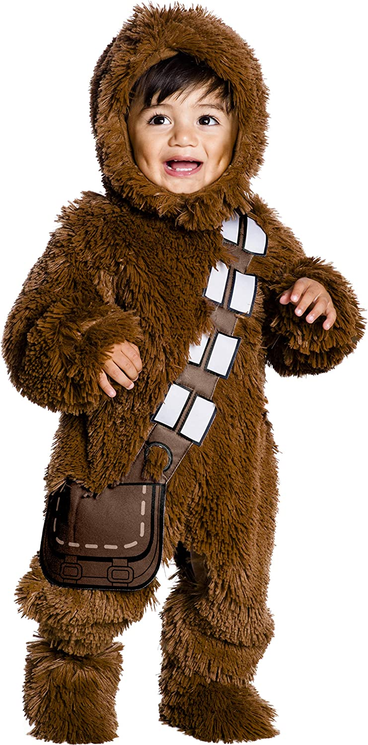 Rubie's Kid's Star Wars Classic Chewbacca Deluxe Plush Costume Romper Baby Costume, Color As Shown, Infant