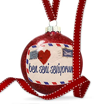 Amazon com: NEONBLOND Christmas Decoration I Love You