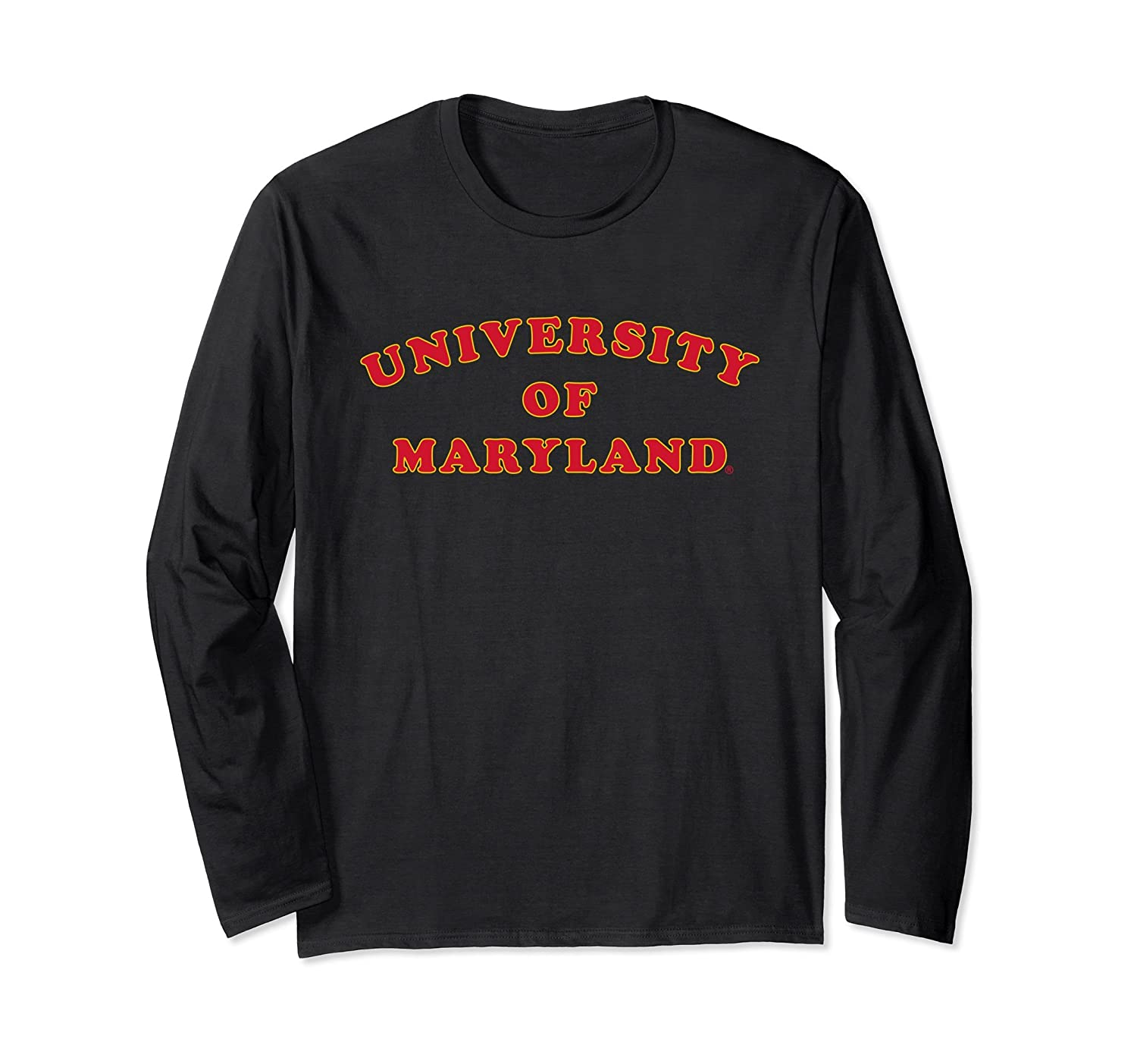 Amazon.com  Maryland Terrapins TERPS Women s NCAA LS Tee RYLMD01  Clothing ca2fb75fac