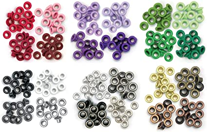 Standard Yellow We R Memory Keepers Eyelets for Scrapbooking