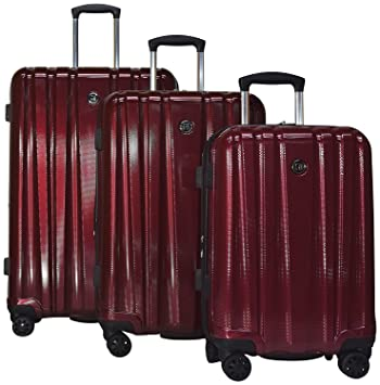 d3a6540ee Amazon.com | Revo Impact Ii Hardside Luggage 3 Piece Set | 20