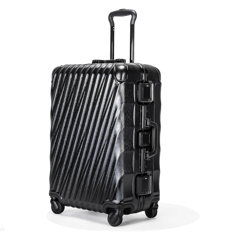 Kroeus(クロース) スーツケース 機内持込 軽量 人気 TSAロック 4輪ダブルキャスター 3段調節キャリーバー キャリーケース 大容量 旅行 出張 一年保証 B07BVRF7KG S(1~3泊、35L) ブラック ブラック S(1~3泊、35L)