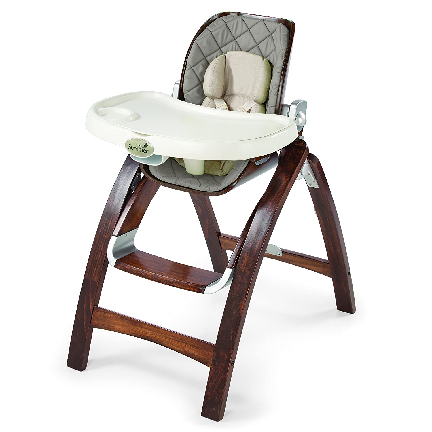 amazon com summer infant bentwood highchair goose down gray baby
