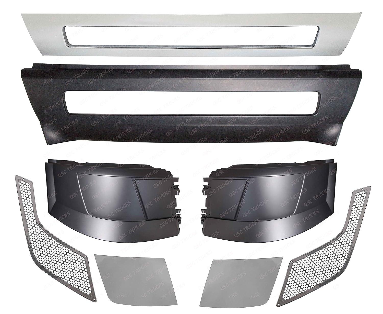 Volvo VNL Vent Grille Driver /& Passenger Side Chrome OE# 20413696 20413695 Pair