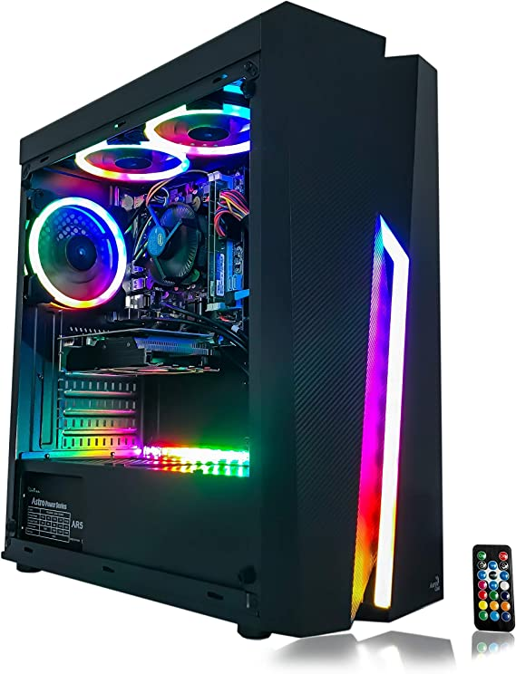 Gaming PC Desktop Computer Intel i5 3.10GHz