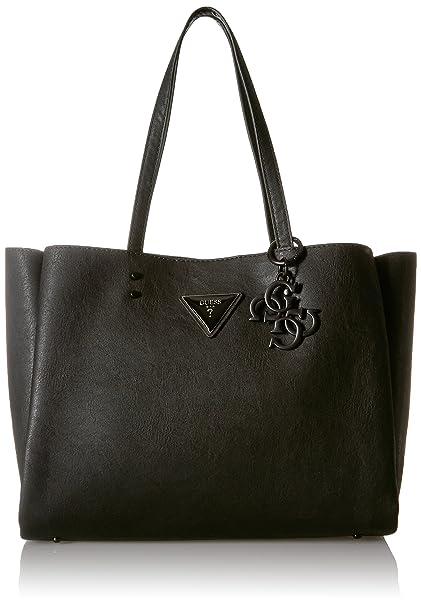 Negro blackbla Bolsos Cm 40x27x14 De Mano Mujer Jade Guess X1cqvv