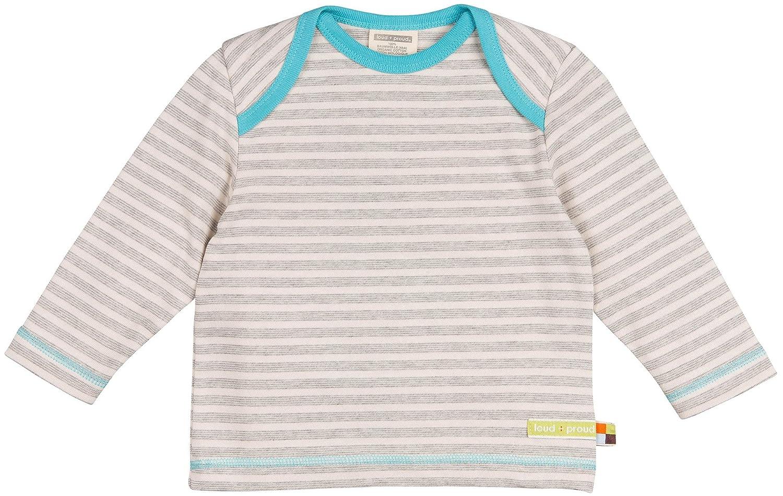 loud + proud Unisex Baby Shirt Streifen aus Bio Baumwolle 1015