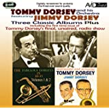 Three Classic Albums - Tommy Dorsey - Fabulous Dorseys in Hi-Fi / Sentimental & Swinging