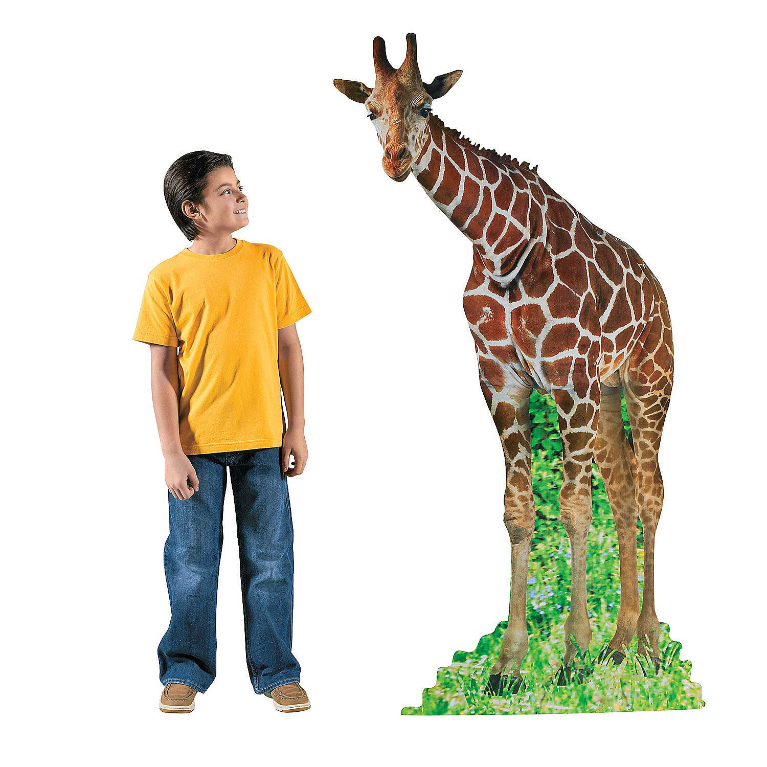 Fun Express - Giraffe Standup - Party Decor - Large Decor - Floor Stand Ups - 1 Piece