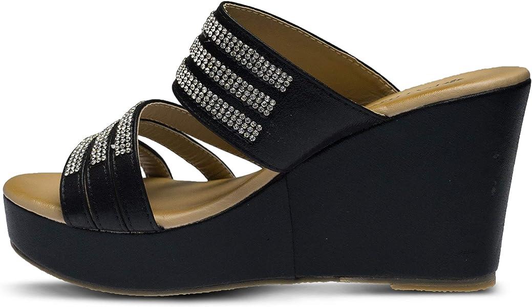 b17ad747267 Women s Halogen Slide Sandal. PATRIZIA Women s Halogen Slide Sandal Black