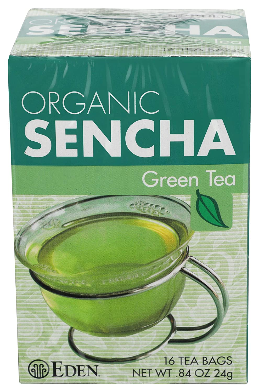 Eden Foods Tea Sencha Green Organic, 16 ct