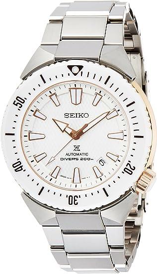 [セイコーウォッチ] 腕時計 プロスペックス ダイバーズ トランスオーシャン自動巻(手巻つき) サファイアガラス SBDC037 メンズ シルバー