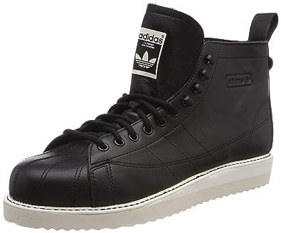 online store a1b87 55103 adidas Damen Superstar Boot W Fitnessschuhe, Schwarz NegbásCasbla 000, 36  EU
