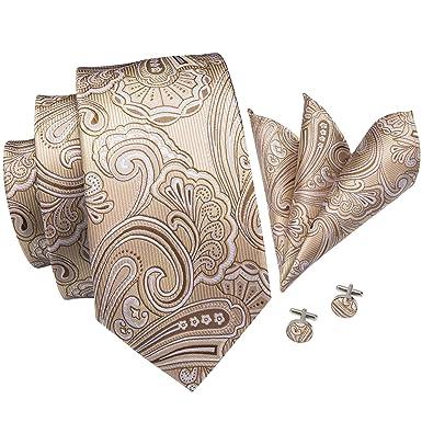 Hi-Tie - Juego de gemelos y corbata de bolsillo para hombre ...