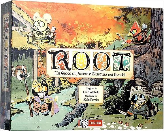 MSEDIZIONI Root - Il gioco da tavolo - Italian: Amazon.es: Juguetes y juegos
