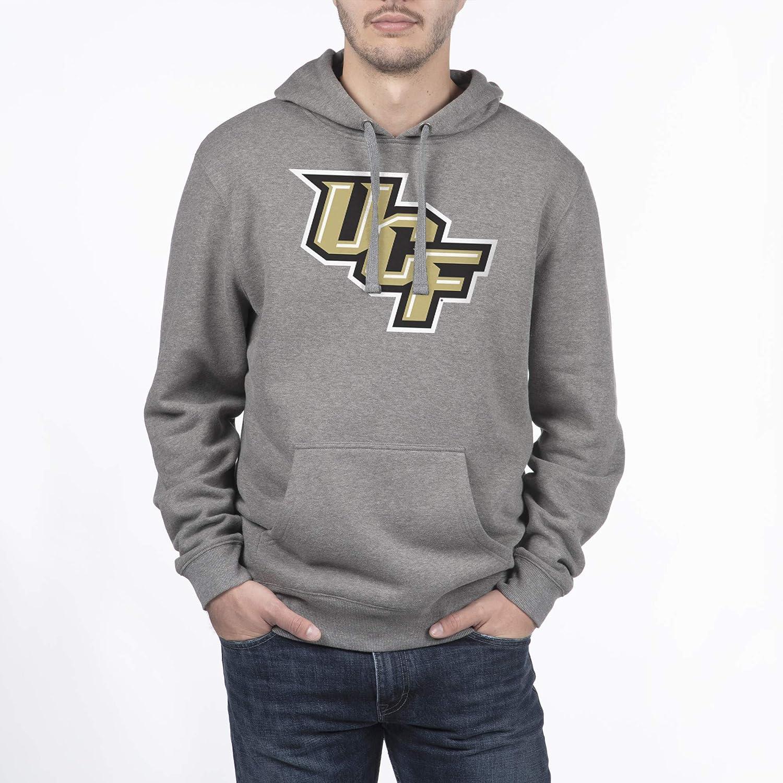 Top of the World NCAA Hoodie Sweatshirt Dark Heather Icon Touchdown