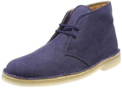 be9bb00586f081 Clarks Originals Desert Boot, Polacchine Uomo, Blu (Navy Fabric), 39.5 EU