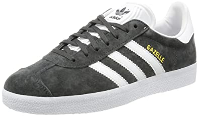 Adidas Originals Gazelle, Sneakers Basses Homme, Gris (Dgh Solid Grey/white/