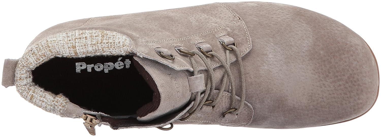 Propet Women's Delaney 8 Ankle Bootie B06XRPL5HJ 8 Delaney 4E US|Sand c82341