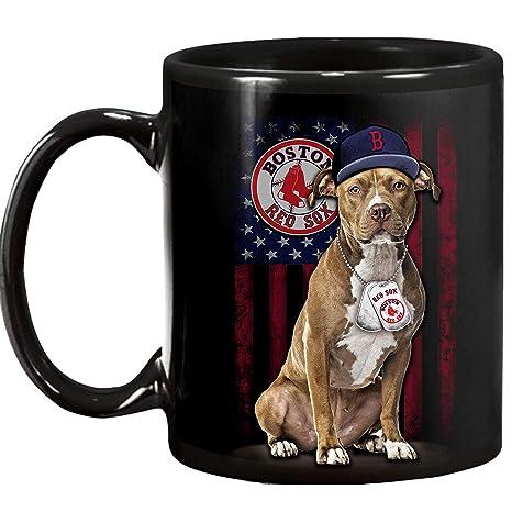 Amazon.com: Taza Boston Red Sox de 325 ml Taza de cerámica ...