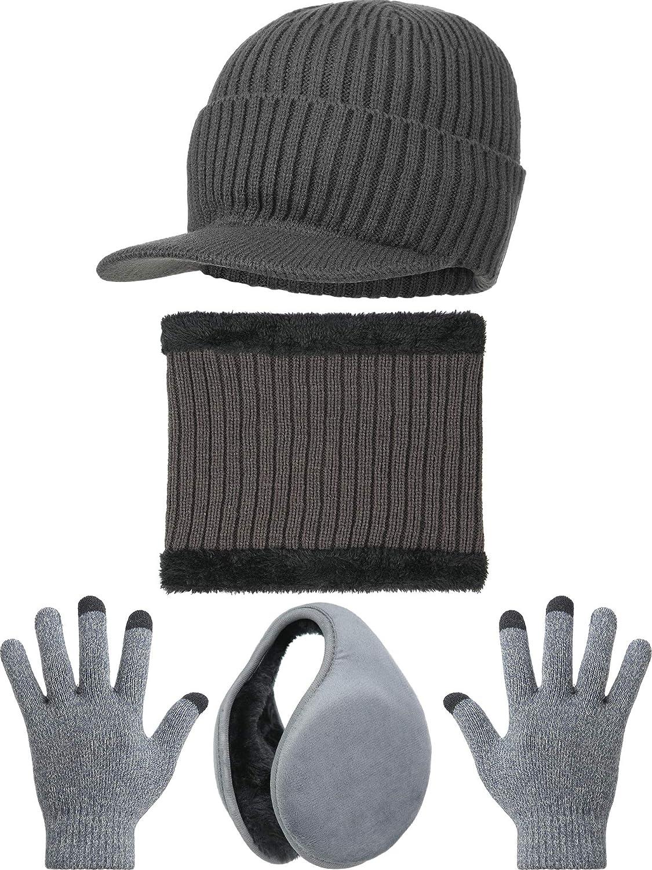 4 Pieces Winter Warm Set...