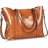 Women Bag Casual Vintage Shoulder Bag Handbags Cross Body Bag Large Capacity Bags Brown