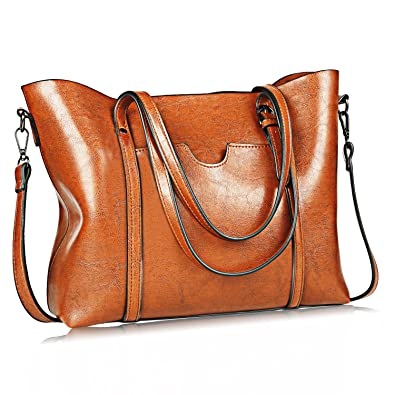2801529693 Women Bag Casual Vintage Shoulder Bag Handbags Cross Body Bag Large  Capacity Bags Brown  Amazon.co.uk  Shoes   Bags