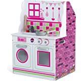 Plum 2 in 1 Wooden Kitchen and Dolls House Play Set