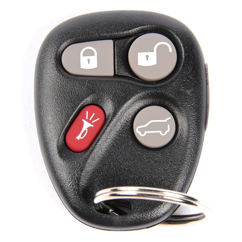 ACDelco 19115765 GM Original Equipment 4 Button Keyless Entry Remote Key Fob
