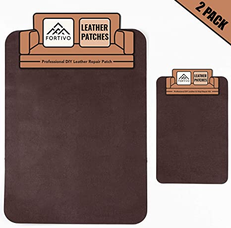 Inflatables Air Mattress Brown Leather Repair Kits For Couches Leather Repair Kit for Car Seats Vinyl Repair Kit Cat Scratch Tape Vinyl Upholstery Leather Patch Brown duct tape for Furniture