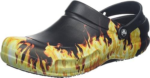 Crocs Bistro Peppers Clog Blk Sabots Mixte Adulte